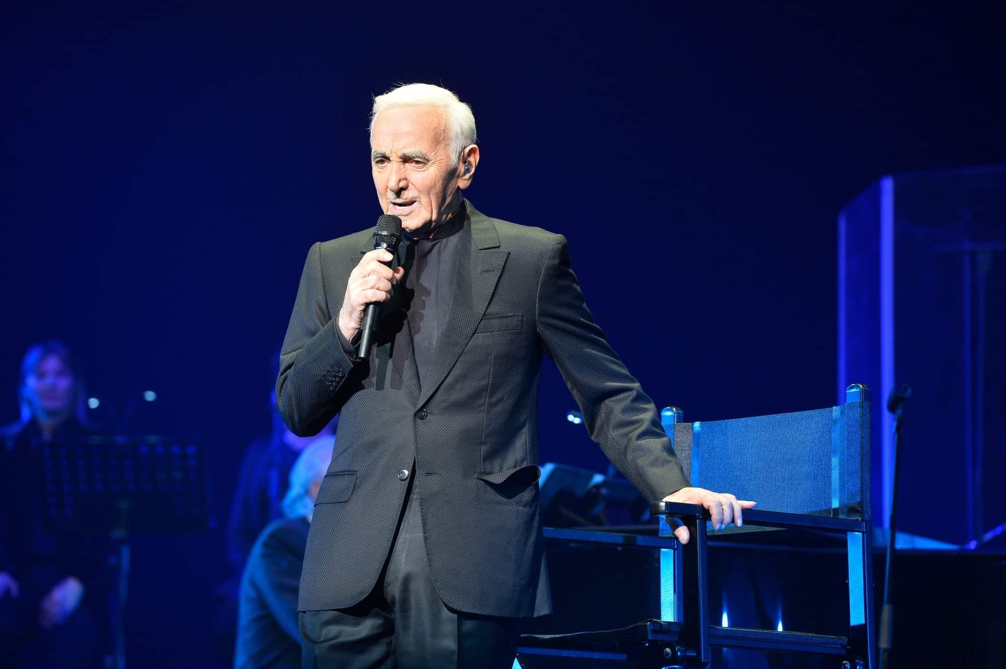 Charles Aznavour la Bohème