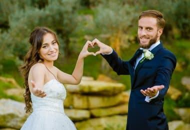 Femme en robe de mariée pour son mariage