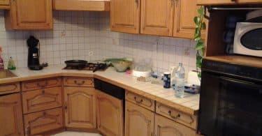 éclaircir une cuisine en chêne